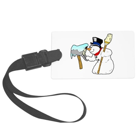 winterk5.PNG Large Luggage Tag