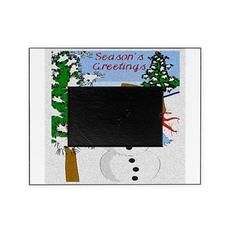 Seasons Greetings Picture Frame