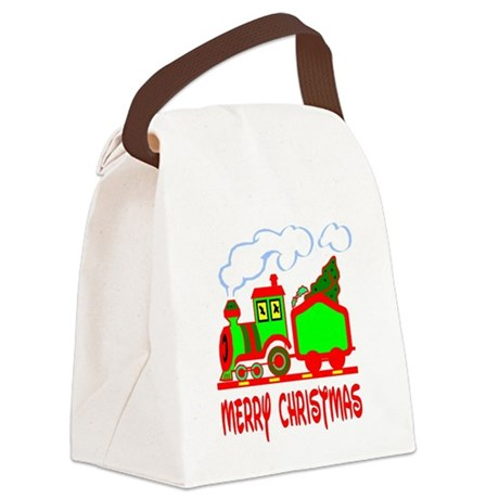 train3.png Canvas Lunch Bag