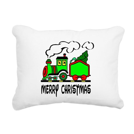 train.png Rectangular Canvas Pillow