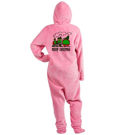 train.png Footed Pajamas