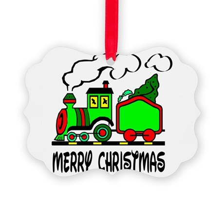 train.png Picture Ornament