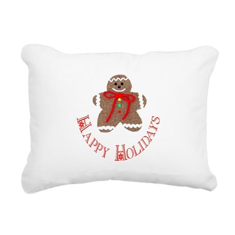 ginger4.png Rectangular Canvas Pillow