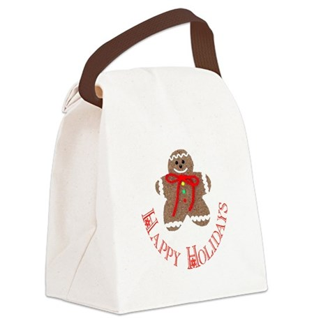 ginger4.png Canvas Lunch Bag