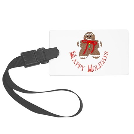 ginger4.png Large Luggage Tag