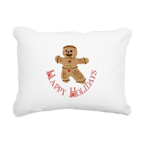 ginger5.png Rectangular Canvas Pillow