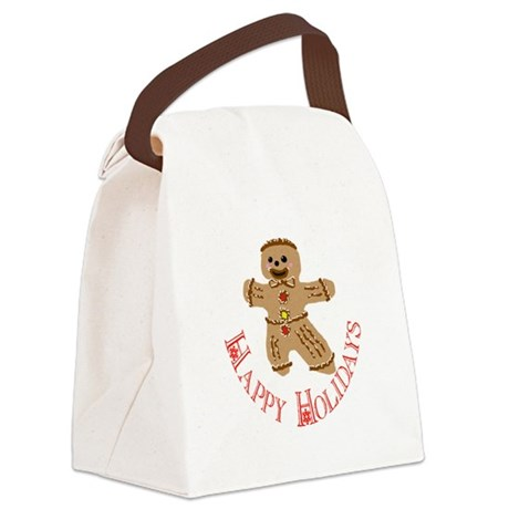 ginger5.png Canvas Lunch Bag