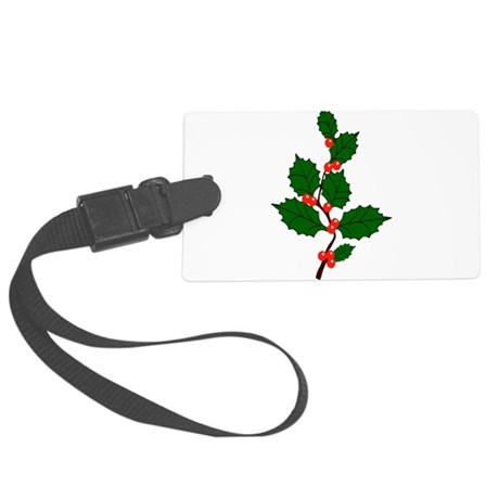 holly.png Large Luggage Tag