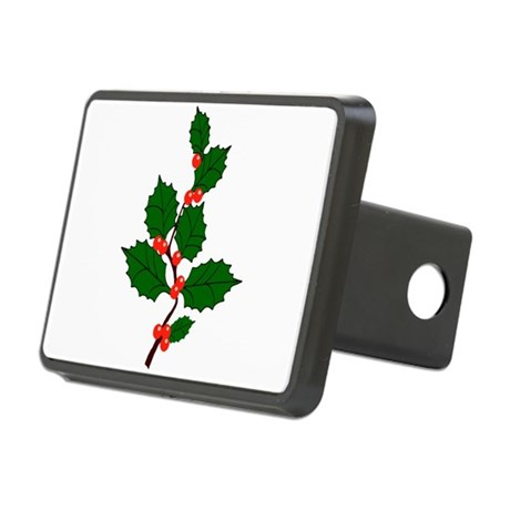 holly.png Rectangular Hitch Cover