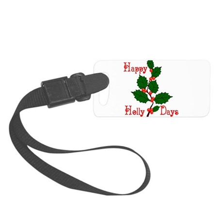 holly2.png Small Luggage Tag