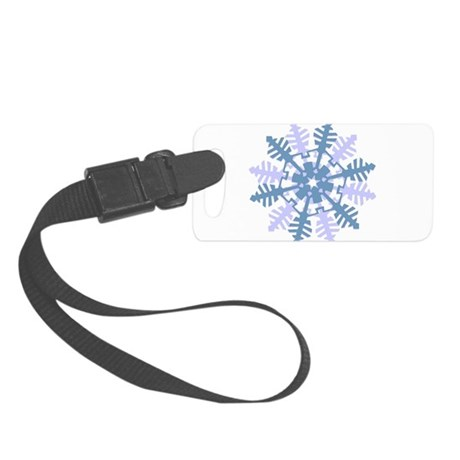 Snowflake Small Luggage Tag