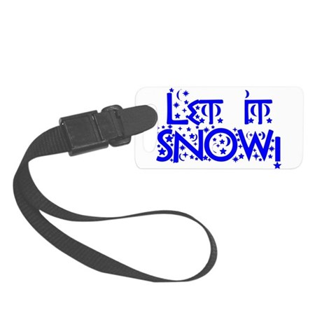 Let it Snow! Small Luggage Tag