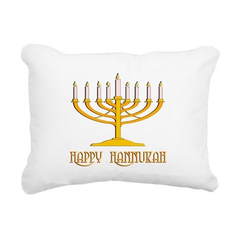 hannukah2.png Rectangular Canvas Pillow