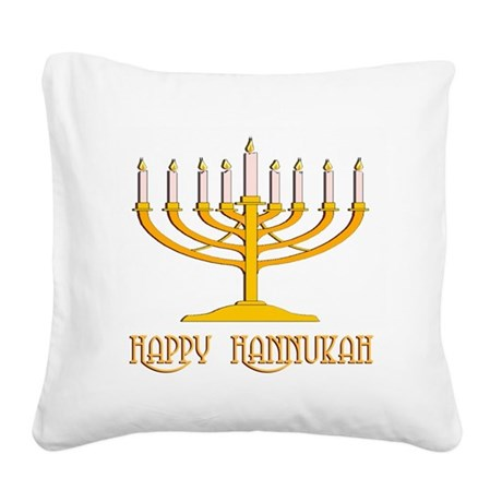 hannukah2.png Square Canvas Pillow