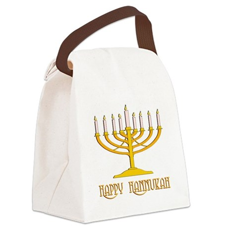 hannukah2.png Canvas Lunch Bag