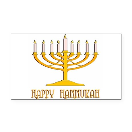 hannukah2.png Rectangle Car Magnet
