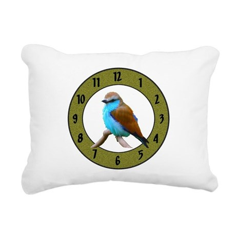 Clocks Rectangular Canvas Pillow