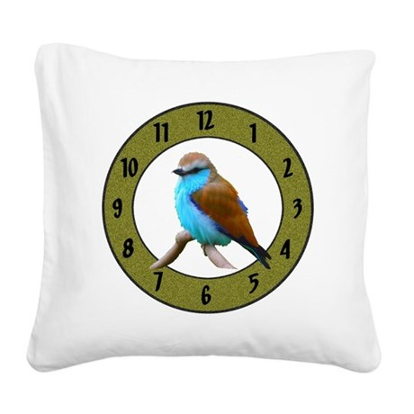 Clocks Square Canvas Pillow