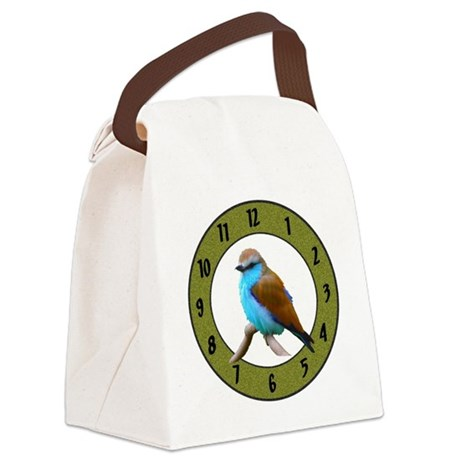 Clocks Canvas Lunch Bag