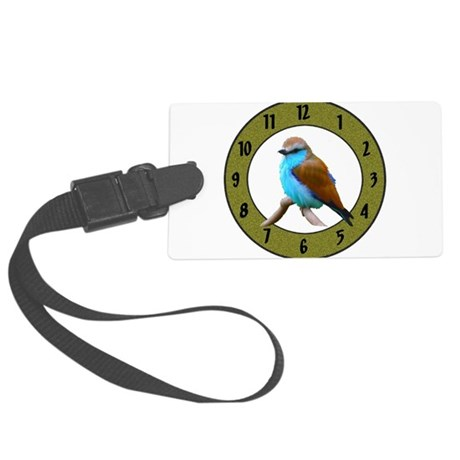 Clocks Large Luggage Tag
