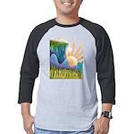 Clocks 3/4 Sleeve T-shirt (Dark)