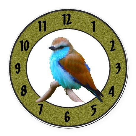 Clocks Round Car Magnet