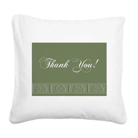 00trimrose1a.jpg Square Canvas Pillow