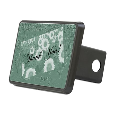 Sunflowers1c.jpg Rectangular Hitch Cover