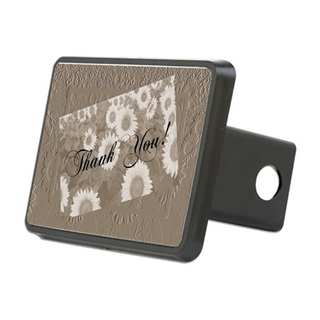 Sunflowers1a.jpg Rectangular Hitch Cover