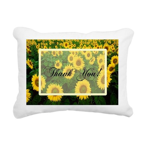 Sunflowers1.jpg Rectangular Canvas Pillow