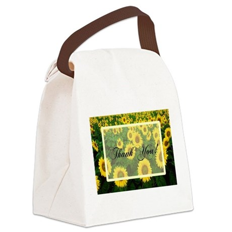 Sunflowers1.jpg Canvas Lunch Bag