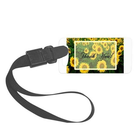 Sunflowers1.jpg Small Luggage Tag