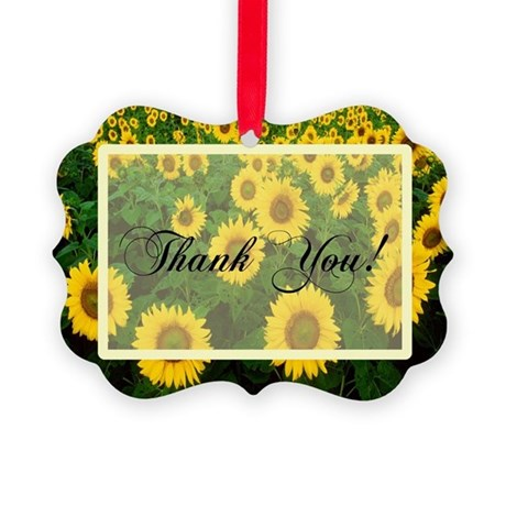 Sunflowers1.jpg Picture Ornament