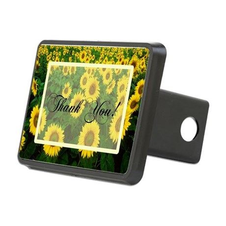Sunflowers1.jpg Rectangular Hitch Cover