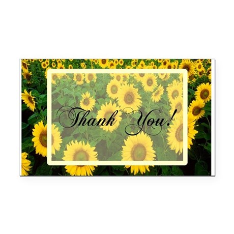 Sunflowers1.jpg Rectangle Car Magnet