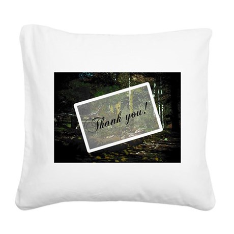 park6a5.jpg Square Canvas Pillow