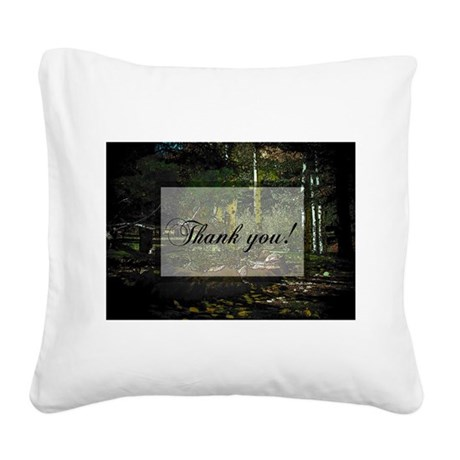 park6a2.jpg Square Canvas Pillow