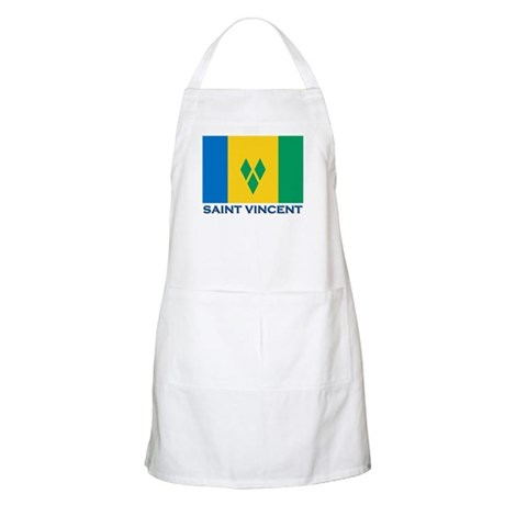 Saint Vincent Flag Gear BBQ Apron