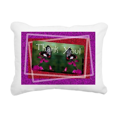 butterflies1d.jpg Rectangular Canvas Pillow
