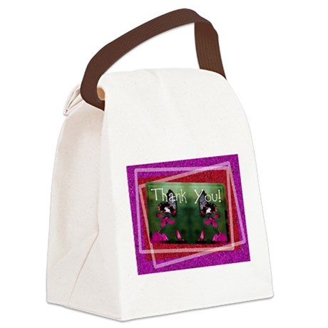 butterflies1d.jpg Canvas Lunch Bag