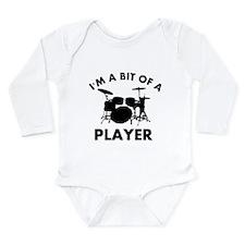 Cool Drums designs Long Sleeve Infant Bodysuit