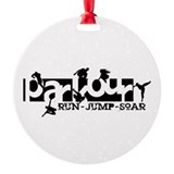 Parkour Ornament