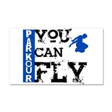 Parkour - You Can Fly Car Magnet 20 x 12