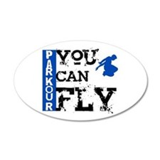 Parkour - You Can Fly Wall Decal