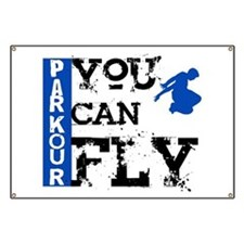 Parkour - You Can Fly Banner