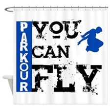 Parkour - You Can Fly Shower Curtain