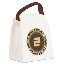 Deuce #1 Canvas Lunch Bag