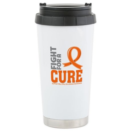 Multiple Sclerosis Fight For A Cure Ceramic Travel