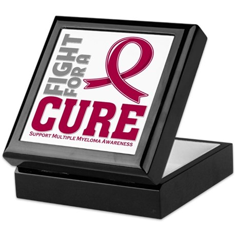 Multiple Myeloma Fight For A Cure Keepsake Box