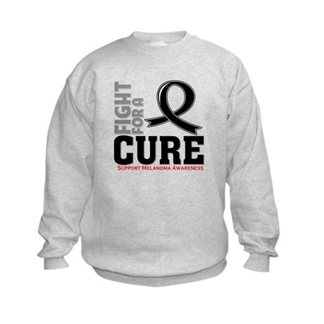 Melanoma Fight For A Cure Kids Sweatshirt